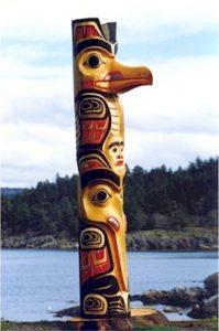 Haida Gwaii Totem Pole