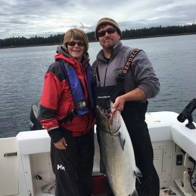 Congrats Judy, nice fish